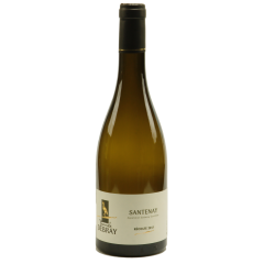 Santenay 2017 - Santenay is a village appellation, 100% chardonnay. This wine is appreciated for its taste: a subtle blend of floral and mineral notes that offers it an elegance worthy of a great wine.