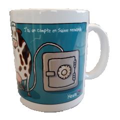 MUG HEULA - HEULA mug with humorous drawing EXCLUSIVE : OS NORMANDE