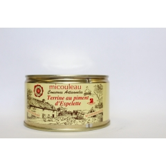 ESPELETTE CHILI PATE - <p><strong>Presentation:  </strong>Can 1/4 Weight 200g (for 4 persons)</p>