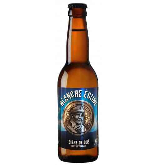 Blanche Écume - White beer Weizen bier Wheat beer 5 °