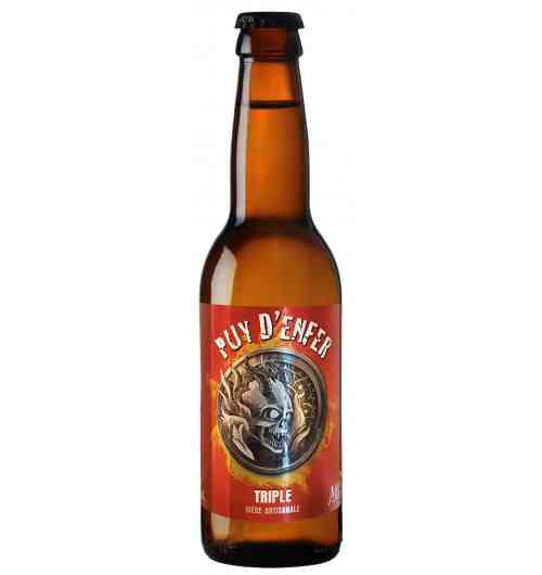 Puy d'Enfer - Triple beer, strong blonde 8.5 °