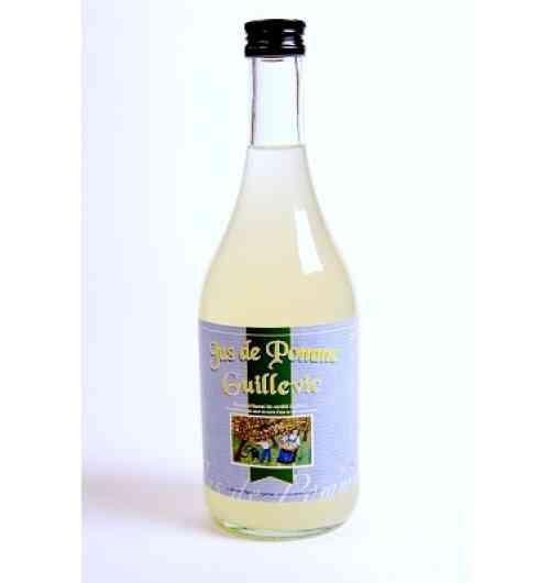 apple juice guillevic - Apple juice elaborated only with the Guillevic apple, cultivated on the South coastline of Morbihan. Fresh apple juice pasteurized from apples selected by hands.