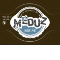 MEDUZ BRUNE - <p>Meduz Brune is a stout dark beer. Its sweetness and coffee tasty come from four differents barley malts. Hops give a freshness and lightness hich make Meduz Brune a easy to drink beer.</p>
