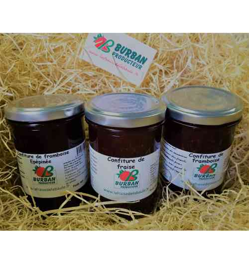 <p>Our jam is handcrafted with selected fruits at maturity to guarantee a quality and incomparable taste. 60% fruit, 36% crystal sugar and 4% citric acid and apple pectin</p> - <p>Our jam is handcrafted with selected fruits at maturity to guarantee a quality and incomparable taste. 60% fruit, 36% crystal sugar and 4% citric acid and apple pectin</p>