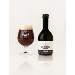 Alaryk Brune Bio - <p>This beer with deep dark robe delivers roasted, licorice and caramel notes, its bitterness and strength are well balanced. It is brewed in the tradition of bières-de-garde, in top fermentation and unpasteurised.</p>