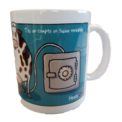 MUG HEULA - HEULA mug with humorous drawing EXCLUSIVE : OS NORMANDE