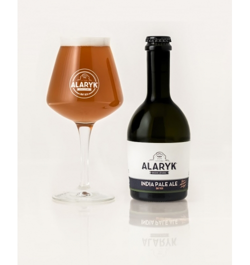 Alaryk India Pale Ale Bio - <p>This highly hoppy beer has notes of citrus, floral flavours and a refreshing bitterness. It is respectfully brewed following the British brewing tradition, processed by topfermentation and unpasteurised.</p>