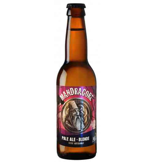 Mandragore - Blond beer Pale Ale Light blonde 4.8 °