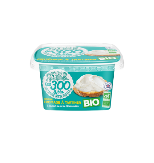 Our cheese spread - A spread cheese made with 100% french whole milk and a touch of cream. In a 150g pack.