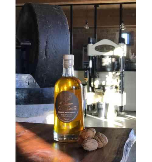 """""""golden brown"""" walnut oil"""