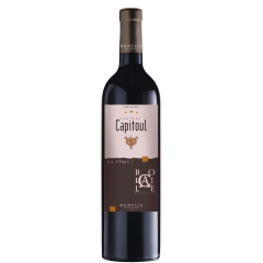 """Vignobles Bonfils - Château Capitoul - Rocaille - red - GRAPES VARIETIES Syrah 40%, Grenache Noir 40%  Carignan 20%  APPELLATION AOP La Clape Red  SOILs Urgonian limestone, limestone clay and stony soils   Château Capitoul is a gem which lies between the sea and the """"garrigue"""". The view on the vineyards loosing themselves in the infinity of the valley before melting into the horizon between salt lakes and blue mountains is breathtaking. The vineyard of Chateau Capitoul goes back to the 14th century, when it was exploited by the Cathedral of Narbonne, which gave its name to the Chateau.   TERROIR Ideally located in the middle of the Languedoc's largest natural site, viticulture is practiced and reasoned, producing wines of highest quality and reflecting the best that the """"Appelation La Clape"""" has to offer. In 2015, the appellation La Clape was accredited """"Grand Cru"""", thus joining other prestigious, internationally renowned French appellations. The grapes for this wine come from vines planted on urgonian limestone, limestone clay and stony soils.  VINIFICATION Mechanical harvest with destemming and double selective sorting carried out at the plot and at the reception. The vinification is carried out for 15 days on pomace, with manual punching down and thermo-regulated must, between 22 and 24 °C. Aging in concrete vats for 12 months.   TASTING NOTES The colour is a deep red with ruby tints. A distinguished and powerful nose where black fruits and spices are mixed. Its lively and fresh taste develops an elegant and complex structure. The silky tannins slowly blend with notes of roasting, black cherry, black olive and cedar.   SOMMELIER'S ADVICE Food and wine pairing: beef tournedos with morels, vegetable tian, Provençal style, tagliatelle pesto and pine nuts, Reblochon, Saint Nectaire. Serving temperature: 16-18°C  Aging potential: 6 years"""