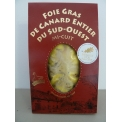 """DUCK FOIE GRAS OF SOUTH WEST OF FRANCE IGP VACUUM PACK - <p><strong>Presentation:</strong> Vacuum pack, weight 200g</p> <p><strong>Ingredients: </strong>Duck foie gras whole of south-west """"<strong>France of origin"""", </strong>salt, pepper, sugar.</p> <p><strong>Preparation: </strong>The duck foie gras whole is prepared at the heart of a gastronomic region with a way ancestral. We remove veins and nerves then seasoned and sterilized. This foie gras has been reward at """"Concours General Agricole"""" of Paris by the gold medal on 2014, 2015 and silver medal on 2016. Moreover, this product has the IGP approval.</p> <p><strong>Way of tasting the product:</strong> It is necessary to open the vacuum pack before to eat and slide over the plate to can realized thinly sliced. Enjoy with a white wine of country of """"Côtes de Gascogne""""</p>"""