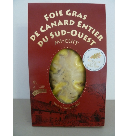 DUCK FOIE GRAS OF SOUTH WEST OF FRANCE IGP VACUUM PACK - <p><strong>Presentation:</strong> Vacuum pack, weight 200g</p>