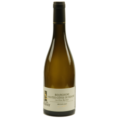 Bourgogne Hautes-Côtes de Beaune 2018 (blanc) - The Bourgogne Hautes-Côtes de Beaune is a regional appellation, 100% chardonnay. It is a wine very appreciated by its fruity bouquet of peach and apricot and its fruity taste and light. Can be drunk easily around a simple meal