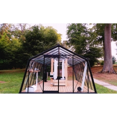 Smart greenhouse - <p>Thanks to our <strong>smart greenhouses</strong>, it is now possible to harvest healthy and fresh <strong>vegetables all year long</strong>.</p> <p><strong>Pesticide-free</strong>, <strong>GMO-free</strong> and with a <strong>small footprint</strong>, myfood greenhouses offer to consume a food that <strong>respects the environment</strong>, is <strong>more nutritious </strong>and <strong>good for health</strong>.</p> <p>The greenhouses are equipped with a <strong>complete aquaponic system.</strong> They can produce between 200 and 400 kilos of vegetables and fruits a year, with a much higher yield than a conventional vegetable garden.</p> <p><strong>Several models are available</strong> (3m2, 14m2 and 22m2), to adapt to all spaces and allow <strong>everyone</strong> to have their <strong>own vegetable garden</strong>.</p> <p>A <strong>mobile application</strong> monitors <strong>the health of the greenhouse</strong> and sends notifications when needed for an intervention.</p> <p>No land to return, no watering, no weeding, <strong>no experience necessary</strong>, myfood greenhouses are the <strong>most relevant product</strong> in the market. Delivered turnkey, they ensure the autonomy of an entire family of vegetables and fruits.</p>