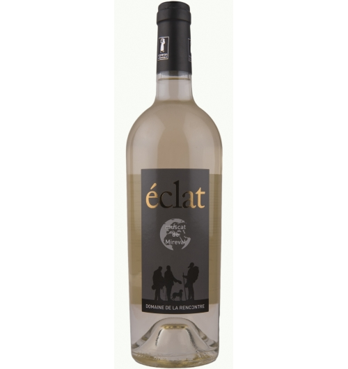 AOC/AOP Muscat de Mireval - éclat - <p>éclat - AOC/AOP Muscat de Mireval - from our young vines - is the rounder, more generous of our Muscats, the expression of its fruitiness will enchant you.  A finale hinting of licorice brings it together, a reminder of the wild fennel that propagates around the vines.  IT has often been honoured with two stars in Guide Hachette...</p>