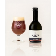Alaryk Ambrée Bio - <p>This amber colored gourmet beer delivers slightly Caramel notes. You will love its roundness and real light bitterness. This beer is brewed in accordance with the<br />brewing tradition, in top-fermentation and have a secondary fermentation in bottle.</p>