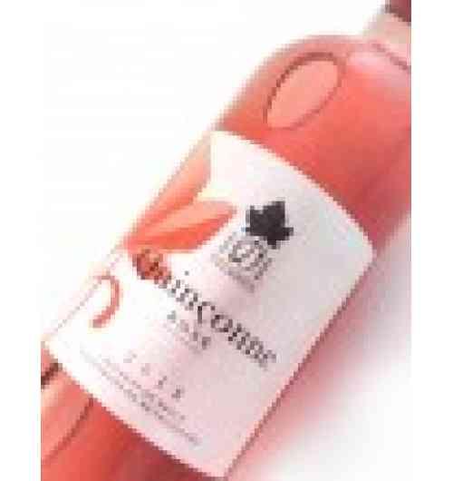 Quinçonne Rosé IGP Pays de Brive 1001 PIERRES Mis en bouteille à la propriété par les Vignerons de Branceilles