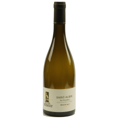 """Saint-Aubin """"Les Pucelles"""" 2018 - Our flagship product!!  Without a doubt our most appreciated white wine (chardonnay) of the domain. A young wine that offers freshness and liveliness in the mouth on citrus notes (lemon, orange)."""