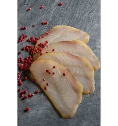 Smoked fish - Smoked pelagic fish, made from fish caught by Reunion longliners in the Indian Ocean.