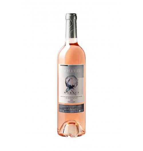 Marius Rosé 2018 - Winemaking: Harvested early in the morning to avoid oxidation, direct pressing, selection of low pressure presses, cold settling, fermentation in vats at controlled temperature. (Around 14 ° C)  Character: Thirsty, fine, supple and delicate wine. Very feminine, it is the favored rosé of summer.