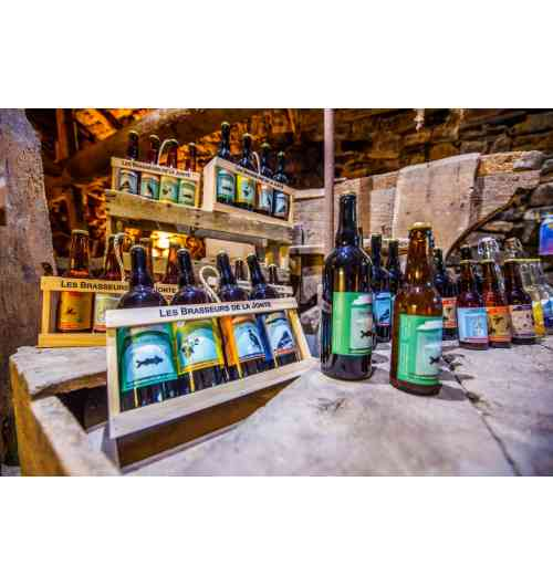 Craft beers LES BRASSEURS DE LA JONTE - Classic and special craft beers, brewed with the water of the Aigoual !