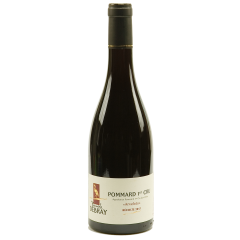 "Pommard 1er cru ""Les Arvelets"" - The most masculine wine of Burgundy! The Pommard offers you a dark red colour with ruby reflections. Its taste offers you aromas of blackberry, blueberry. The aromas also change with age, they are oriented towards leather, fur, pepper"