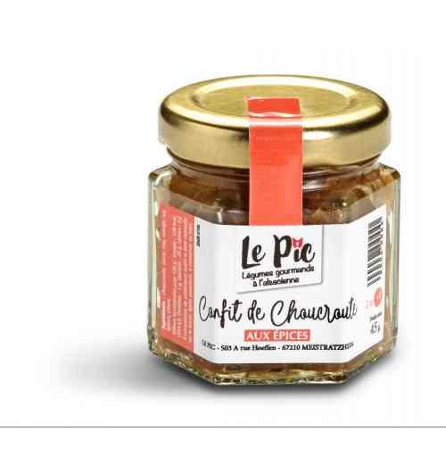 Confit de Choucroute aux Epices