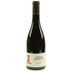 Corton Grand cru 2017 - The vineyards of this great vintage are located in Aloxe-Corton.  Its taste with fruity (redcurrant) and floral accents (violet, blueberries) has this singular character. In the mouth, it is strong, full-bodied, firm and frank everything one expects from a great wine even if it needs 6 to 12 years to blossom.