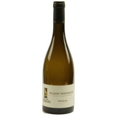 Puligny-Montrachet 2018 - A white wine (chardonnay) named village. Very elegant, flattering on scents of hawthorn, ripe grapes, almond paste, hazelnut, green apple. In the mouth it is the aromas of butter and minerals that are very present, as well as honey. Body and bouquet melt in a subtle marriage.