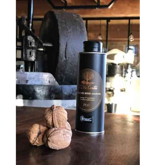 """Golden brown"" walnut oil (25cl)"