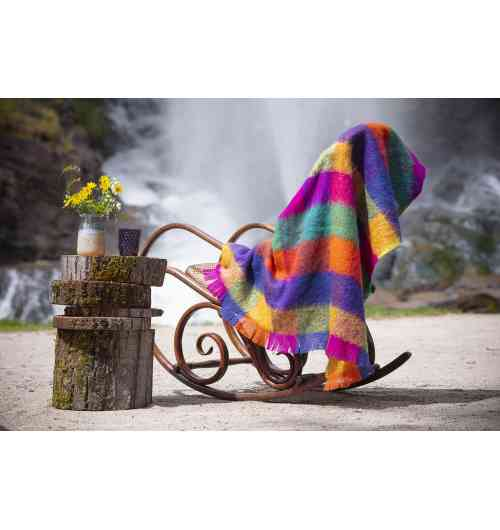 To discover: 100 % mohair throws - The essential for your cozy interiors