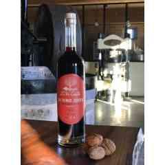 """IN VINO JOVIS"" Green walnut wine"