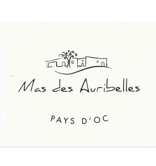 MAS DES AURIBELLES cuvée Pays d'Oc - MAS DES AURIBELLES cuvée Pays d'Oc IGP Pays d'OC Red Wine 75cl