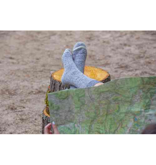 To discover: hiking mohair socks - The alliance of mohair and merino will be your ally for all your hikes ...