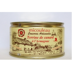 DUCK PATE IN ARMAGNAC - <p><strong>Presentation:  </strong>Can 1/4 Weight 200g (for 4 persons)</p>