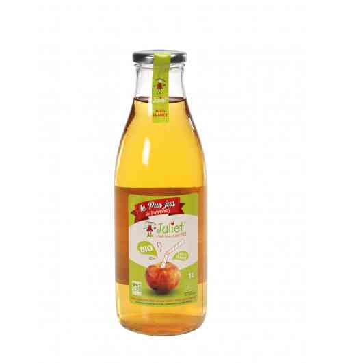 Organic Juice, Sparkling, purée with Juliet apple