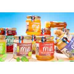 HONEY LES COMPAGNONS DU MIEL - With the harvests of its 120 beekeepers, our Cooperative offers more than 50 references of French honey from different regions of France. Honeys of all flowers or one specific botanic essence, liquid or creamy, sweet to intense, each gourmet will find the honey most suited to his desires and personality.  The public is invited to come and taste these honeys around the Honey Bar on our booth! Ex: Fir Honey, Lavender Honey, Callune Heath Honey etc.