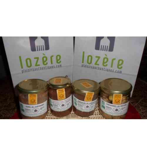 Chestnut jam, fruit jams, products derived from the Cévennes chestnut - NADIA VIDAL - Chestnut jam, fruit jams, products derived from the Cévennes chestnut - Pancakes and ice cream