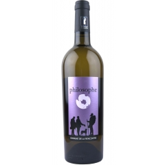 """IGP Pays d'Hérault - philosophe - <p><strong>philosophe – """"entre deux"""" IGP 34</strong>. Created from the blend of a young muscat sec and a richly ripe harvest that has been aged in barrel. Neither too sweet or too dry, its first round attack leaves its place on the palate to a fruity dryness. Favourite for an evening among friends and family reunions, on can open it for the apero and continue for the meal. Think of mediterranean dishes - grills of fish and fowl, paella, tagine, a rabbit and autumn fruit casserole, scallops in a reduced balsamic sauce or a pork cutlet in rich sauce or a crown of lamb. For dessert an almond or apricot pastry perhaps...</p>"""