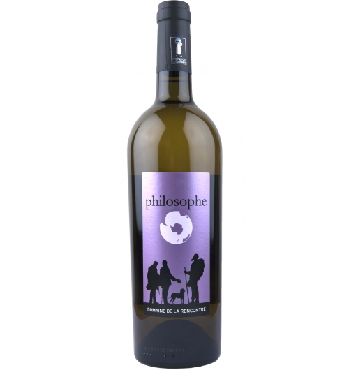 "IGP Pays d'Hérault - philosophe - <p><strong>philosophe – ""entre deux"" IGP 34</strong>.  Created from the blend of a young muscat sec and a richly ripe harvest that has been aged in barrel.  Neither too sweet or too dry, its first round attack leaves its place on the palate to a fruity dryness.  Favourite for an evening among friends and family reunions, on can open it for the apero and continue for the meal.  Think of mediterranean dishes - grills of fish and fowl, paella, tagine, a rabbit and autumn fruit casserole, scallops in a reduced balsamic sauce or a pork cutlet in rich sauce or a crown of lamb.  For dessert an almond or apricot pastry perhaps...</p>"