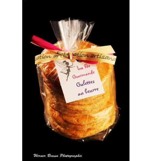 CHESTNUT FLOUR GALETTE - GLUTEN-FREE ROUND CAKES MADE FROM CHESTNUT FLOUR PACK OF 8 ROUND CAKES DIAMETER APPROXIMATELY 8 CM