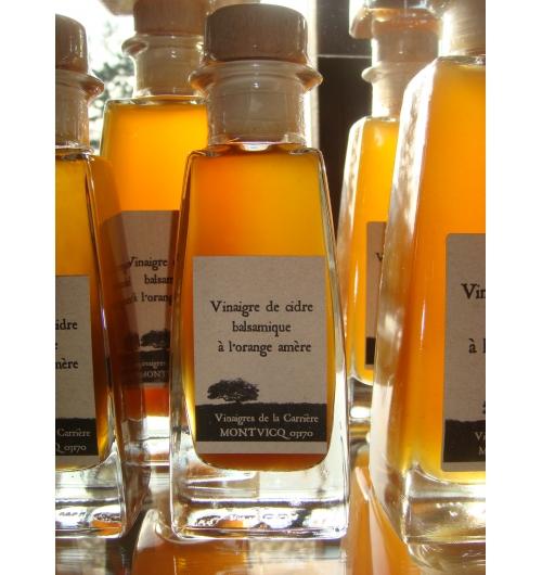 Balsamic apple cider vinegar in bitter orange