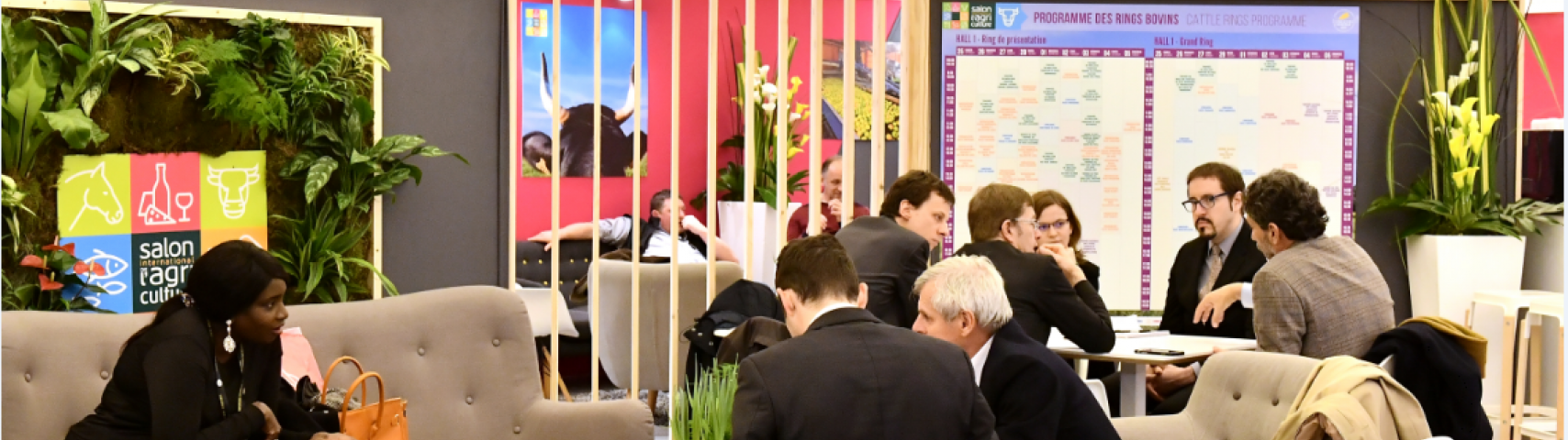 Visiteurs professionnels_club affaires international_Salon International de l'Agriculture